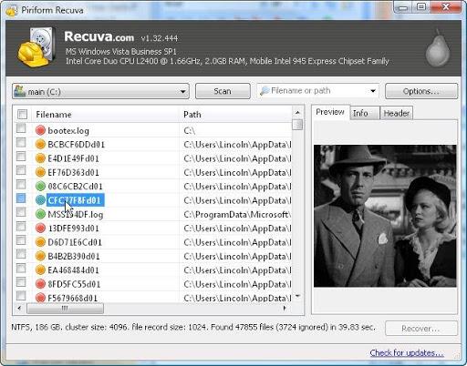 如何恢復已刪除的文件