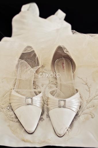Bride Shoes Veil By Alan Evans