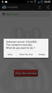 Files Drag & Drop - screenshot thumbnail