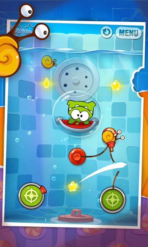 Cut the Rope: Experiments HD Screenshot 2