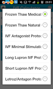 My Fertility Diary - IVF Rx- screenshot thumbnail