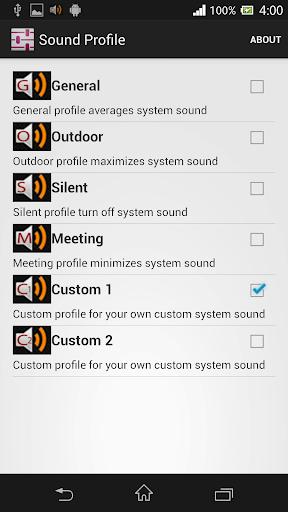 Sound Profile