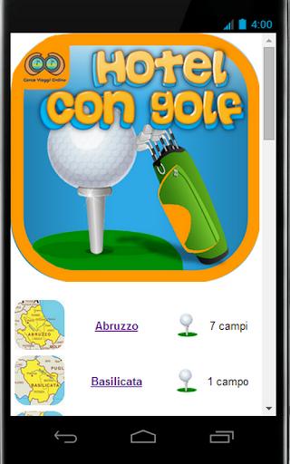 Hotel con Golf