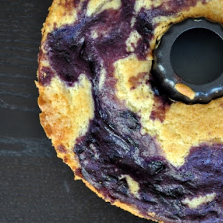 Blueberry Marble Coffee Cake