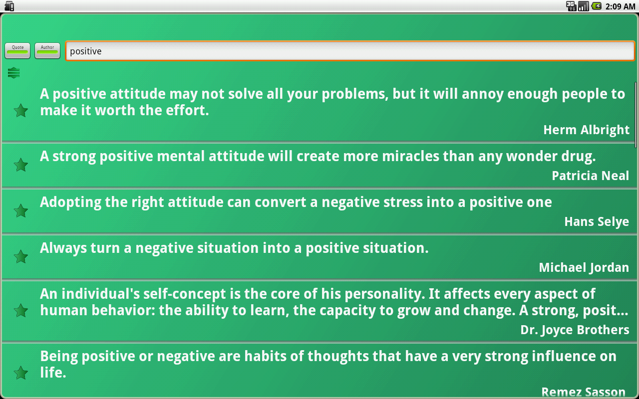 Positive Thinking - screenshot