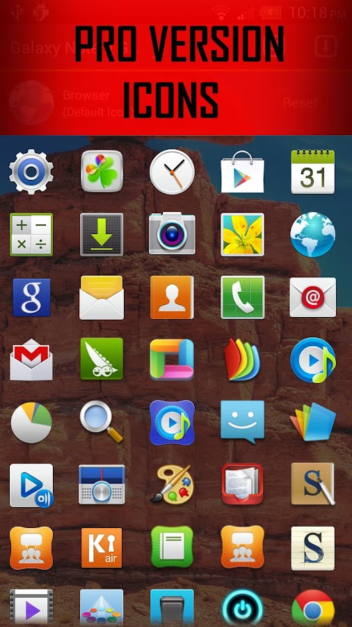 Galaxy Note 2 Go EX Theme - screenshot