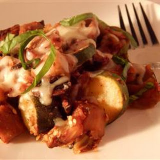 Roasted Eggplant Zucchini Mushrooms Recipes.