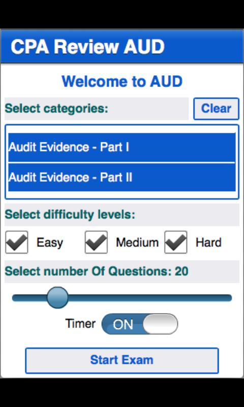 CPA Review - AUD - screenshot