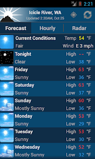 NOAA Weather - screenshot thumbnail