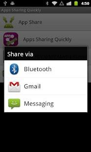 Apps Sharing Quickly - screenshot thumbnail