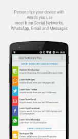 User Dictionary Plus (Free) Screenshot 1