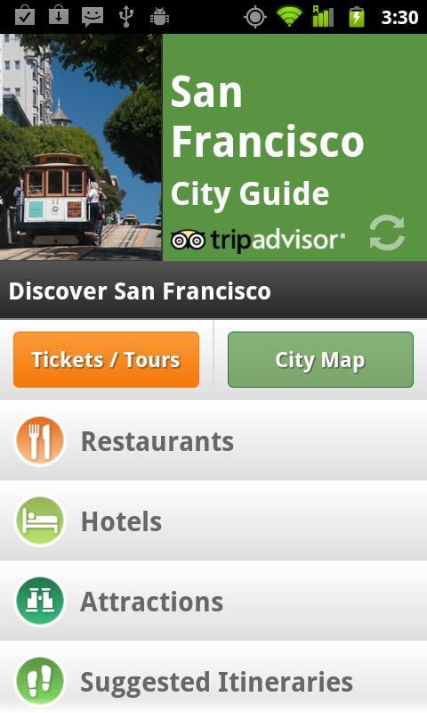 San Francisco City Guide - screenshot