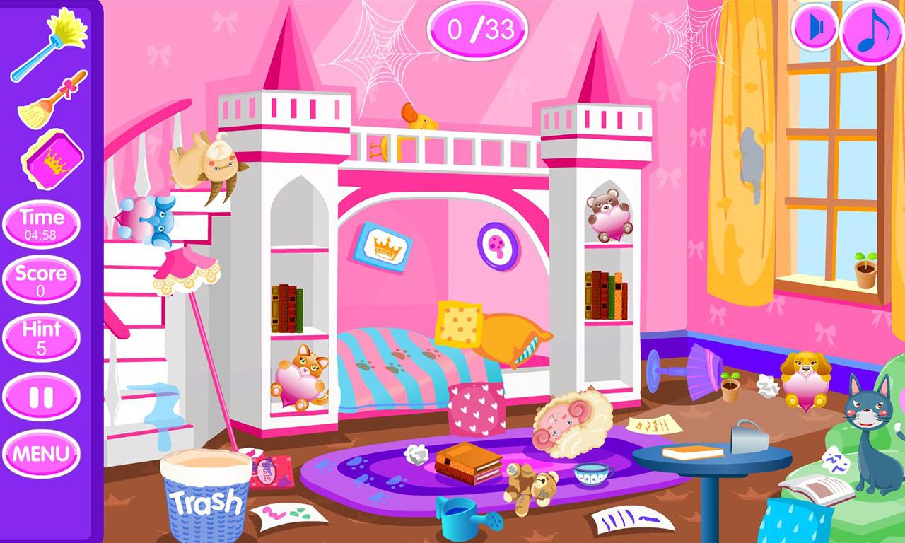 prinzessinnen zimmer aufr umen android apps auf google play. Black Bedroom Furniture Sets. Home Design Ideas