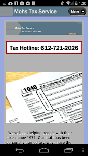 Mohs Tax Service- screenshot thumbnail