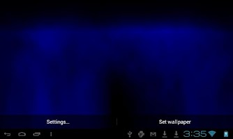 Screenshot of Retro Wave Live Wallpaper