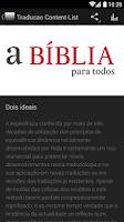 Screenshot of a BÍBLIA para todos