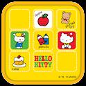 Hello Kitty Yellow Frame icon