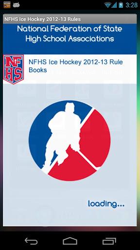 NFHS Ice Hockey 2012-13 Rules