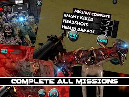 Screenshot of Zombie Killer Shooter Assault