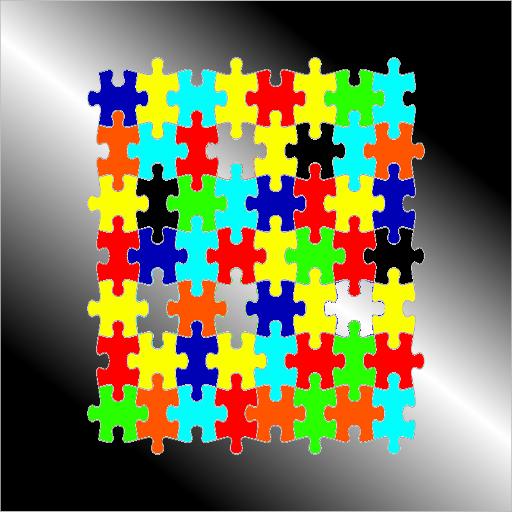 シンプルジグソーパズル LOGO-APP點子
