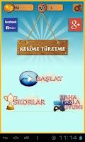 Screenshot of Kelime Türetme