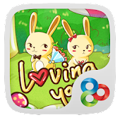 Loving you GO Launcher Theme