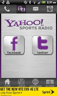 Yahoo! Sports Radio - screenshot thumbnail