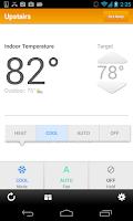 Screenshot of EnergyHub Thermostat