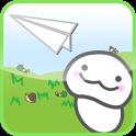 ふわふわ紙ヒコーキ-お気軽メッセージ交換アプリ- icon