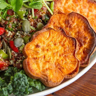 Adzuki Bean & Quinoa Tabbouleh Salad with a Twist.