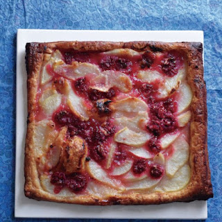 Pear-Raspberry Tart