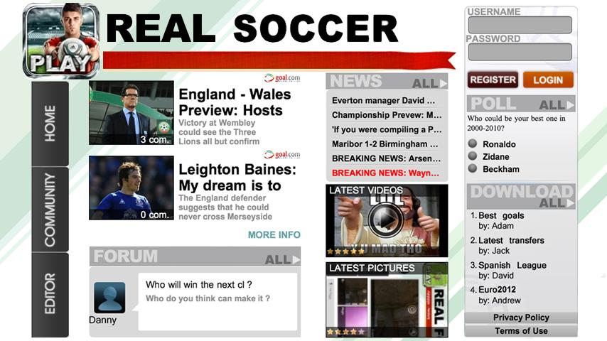 Real Soccer 2012 screenshot #6