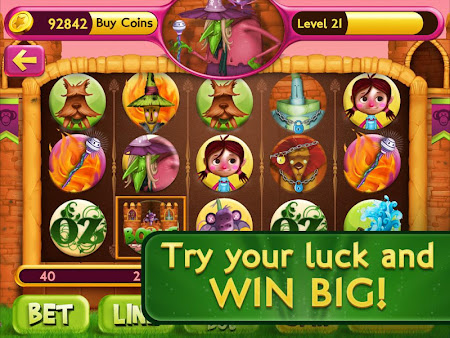 Slots Wizard of Oz 1.0.9 screenshot 38141