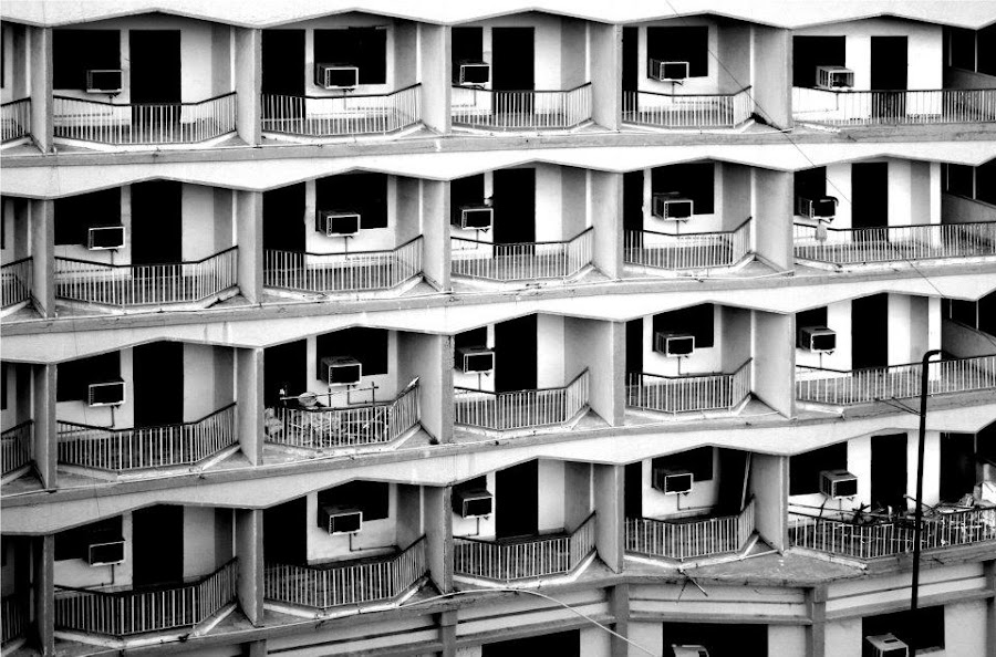 Pagupon?  by Masrizal Suwardi - Black & White Buildings & Architecture