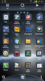 Go Launcher EX Theme Universe- screenshot thumbnail
