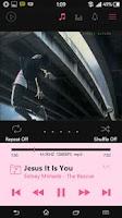 Screenshot of Poweramp Cool Pink Skin 5 in 1