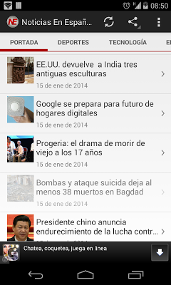 Noticias En Español - screenshot