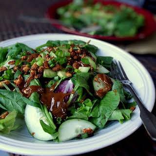 Exotic Avocado and Peanut Cluster Salad.