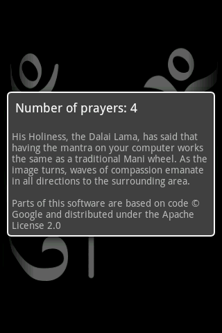 Prayer Wheel- screenshot