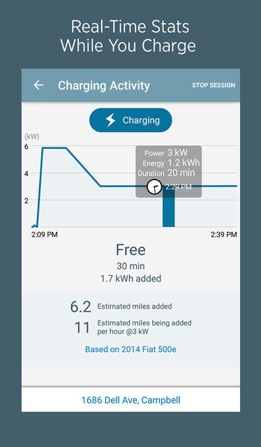 ChargePoint: Find EV Charging - screenshot