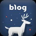 푸른 루돌프 이야기 테마–naver blog theme icon