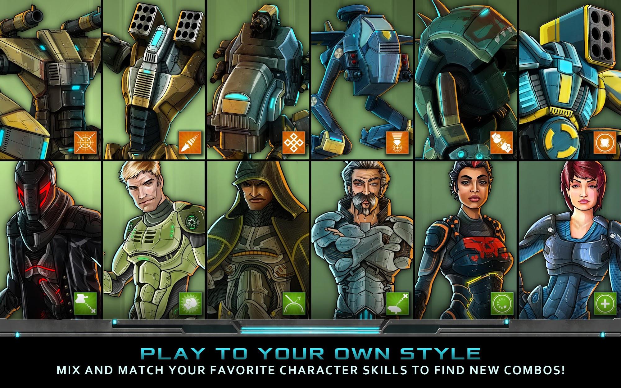 Nitropia: War Commanders screenshot #9