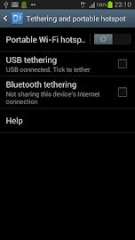 WiFi Tethering /WiFi HotSpot Screenshot 3