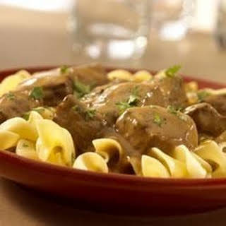 One-Dish Beef Stroganoff and Noodles.
