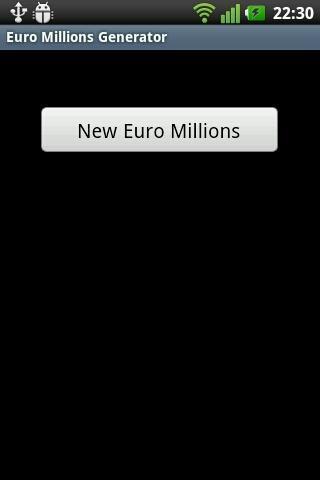 Euro Millions Generator
