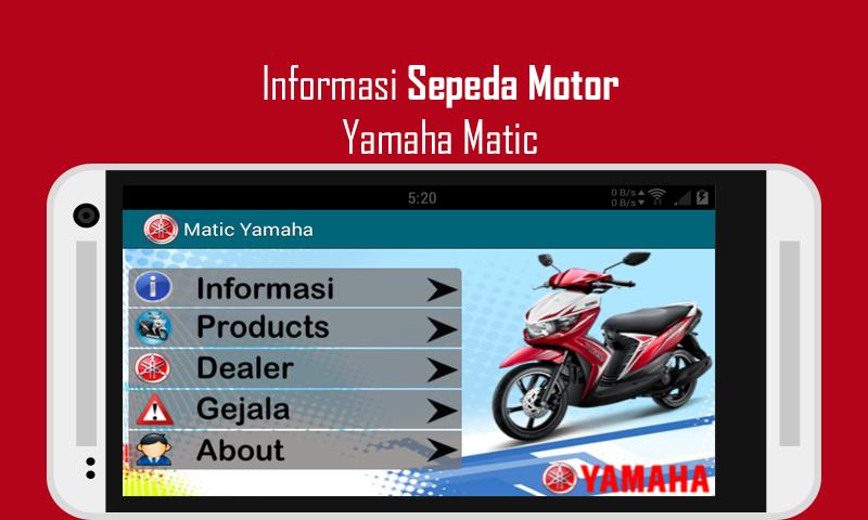 Informasi Yamaha Matic - screenshot