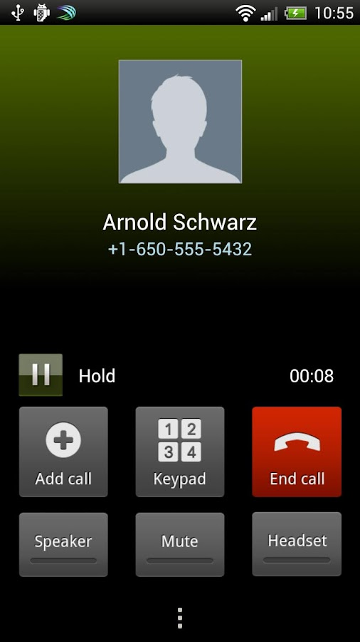 Autocall Free - screenshot