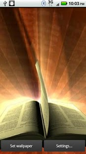 Bible Rays 3D Live Wallpaper - screenshot thumbnail