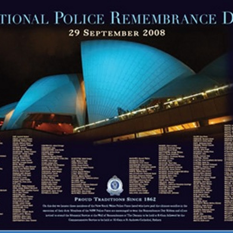 National Police Remembrance Day (en Australia)
