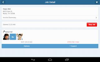 Screenshot of Service Autopilot